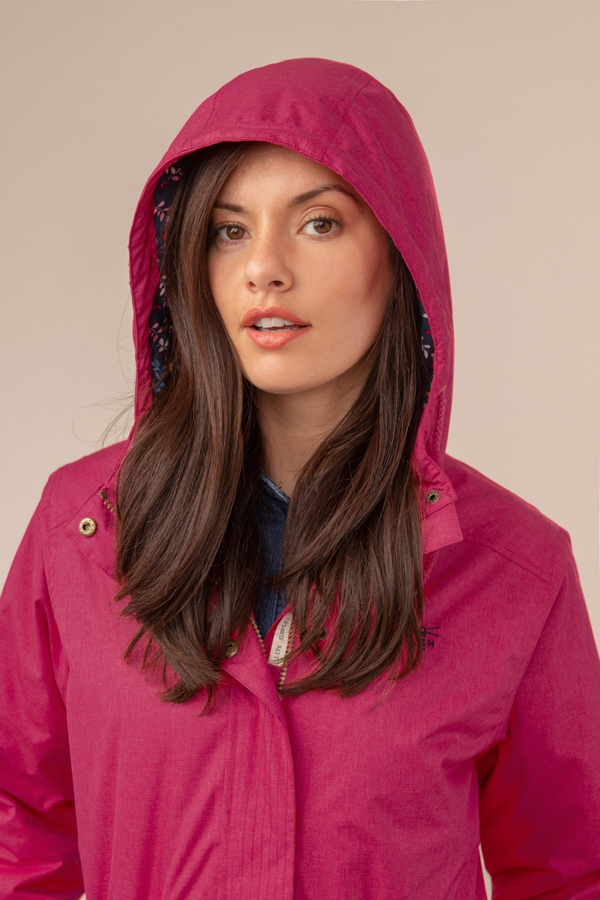 Lighthouse Lauren Womens Warm Waterproof Parka - Pink