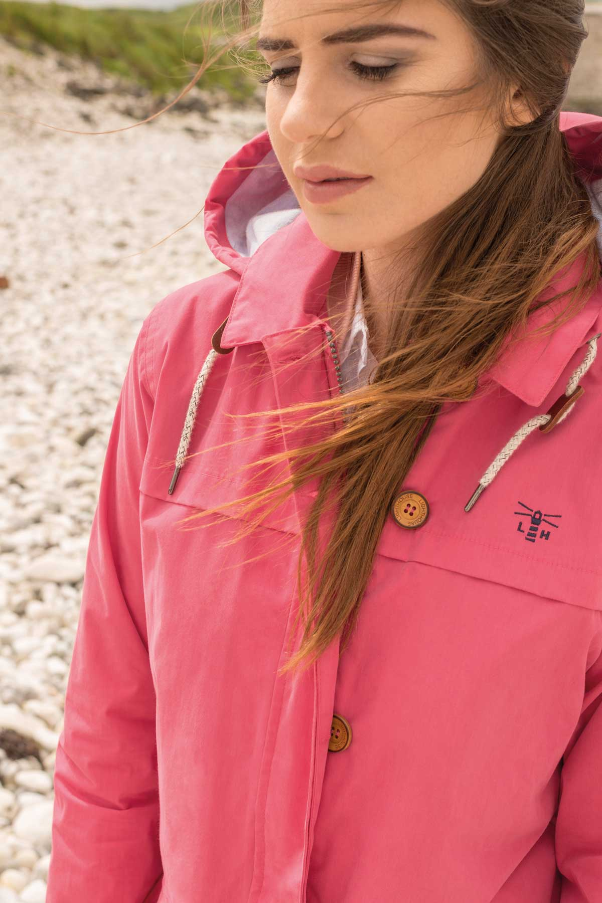 Lighthouse Abby Jacket - Scarlet - Lifestyle
