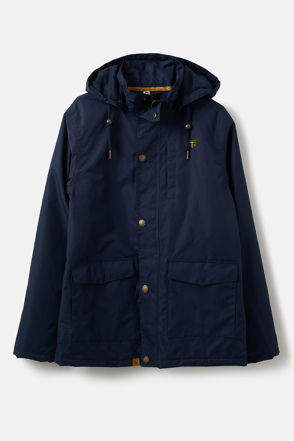 Lighthouse Logan Mens Warm Waterproof Coat - Navy