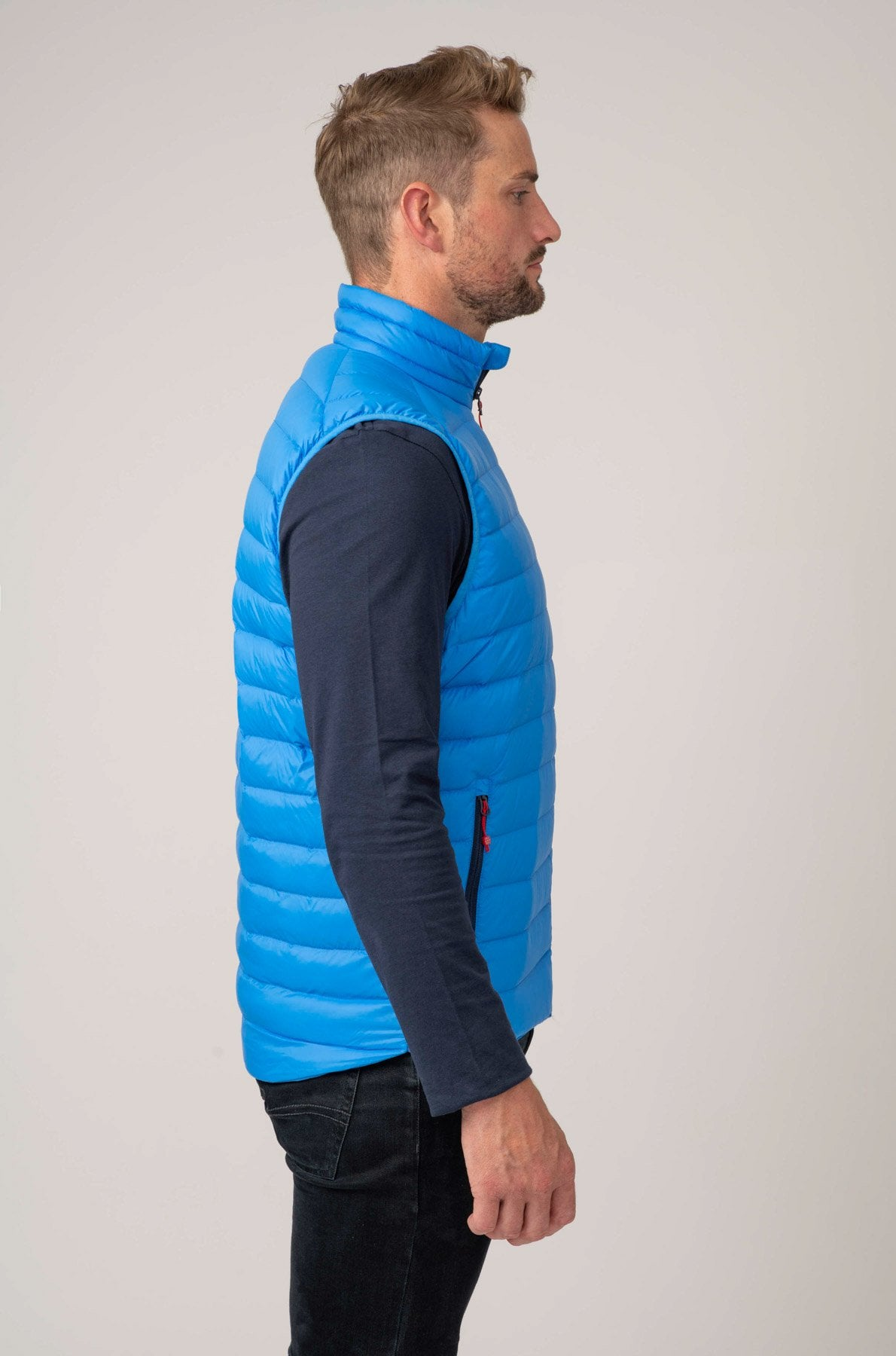 Alpine Mens Down Gilet - Royal