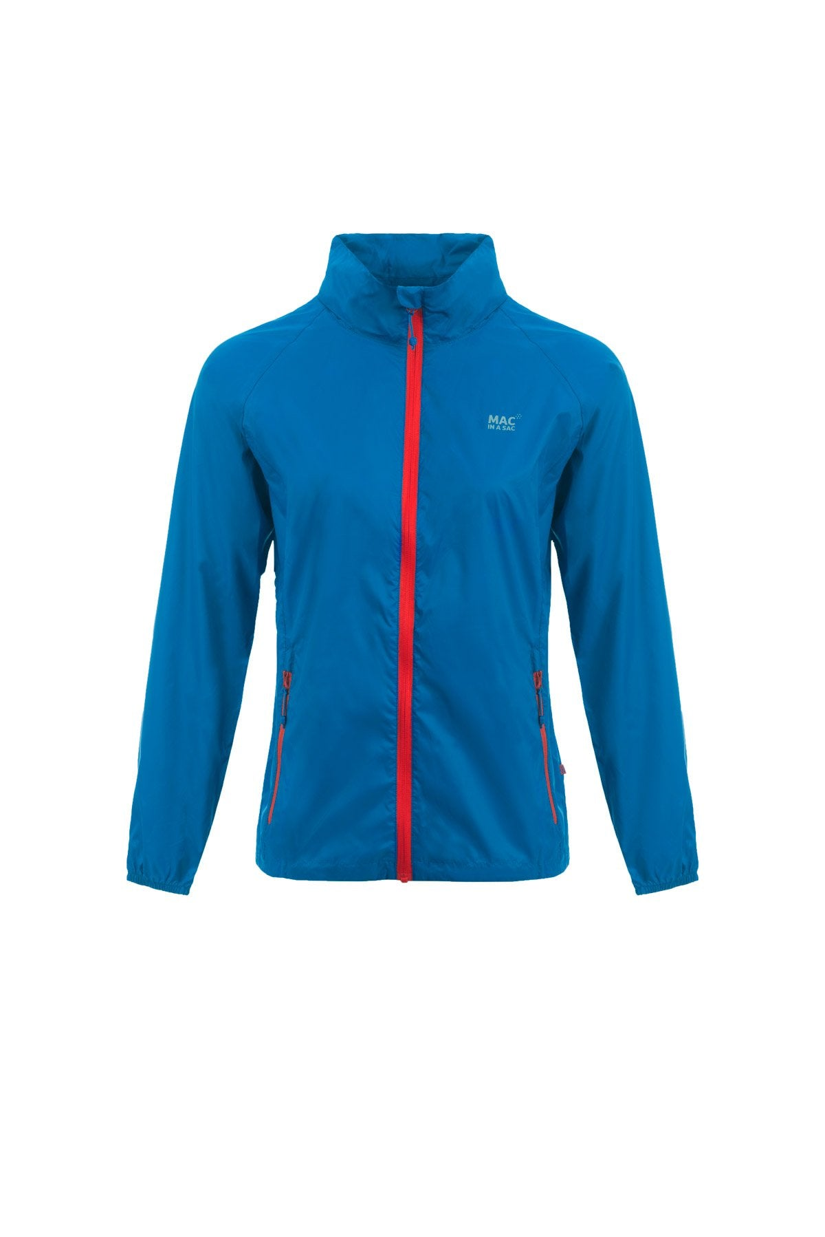 Packable Waterproof jacket - Electric Blue