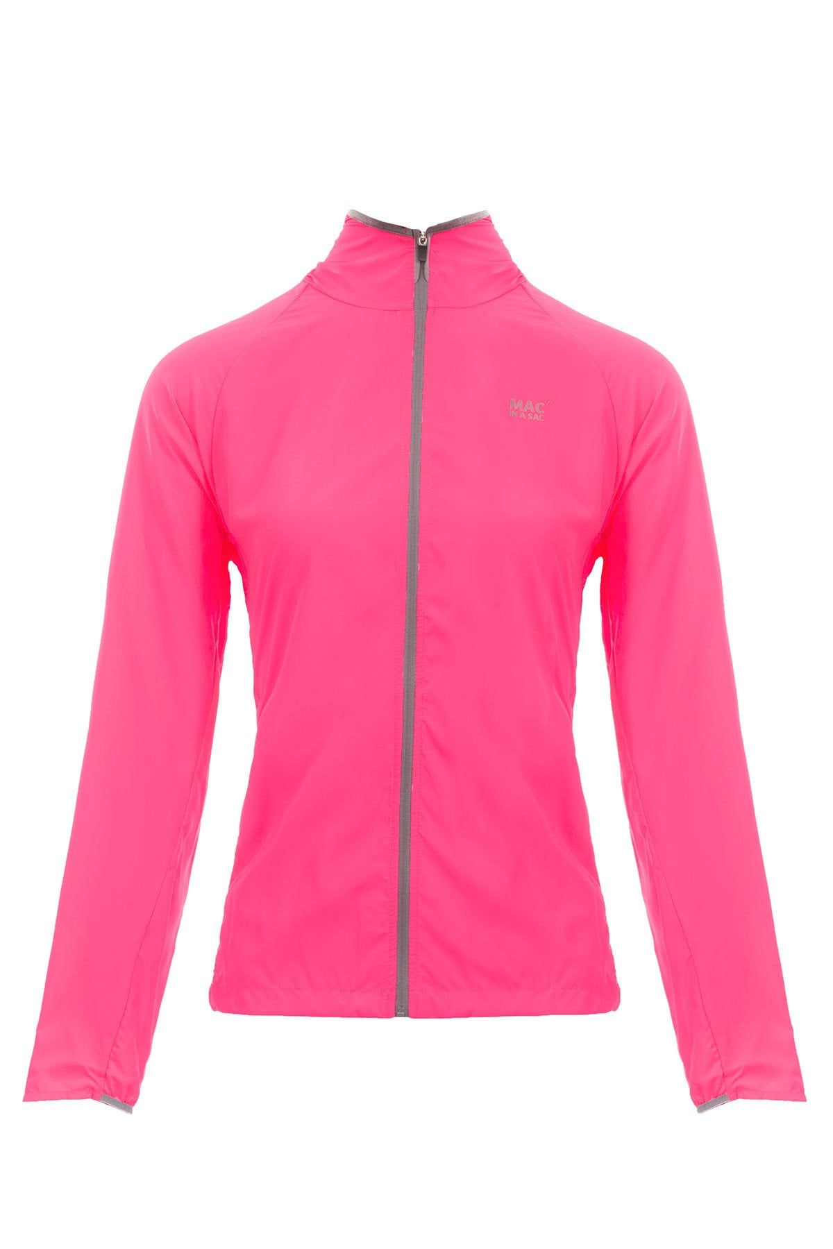Packable Running Jacket - Neon Pink