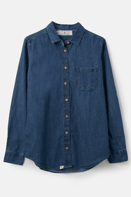 Ocean Shirt - Washed Denim
