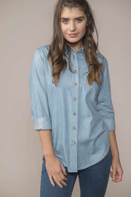 Ocean Shirt - Soft Denim