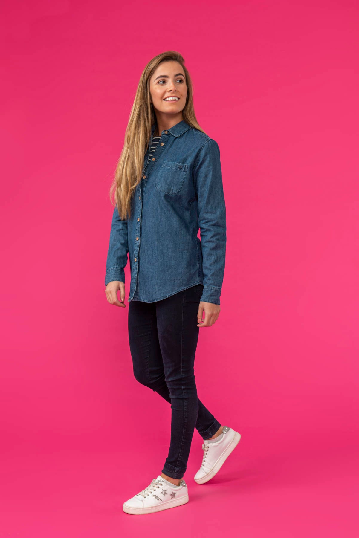 Ocean Women's Denim Shirt