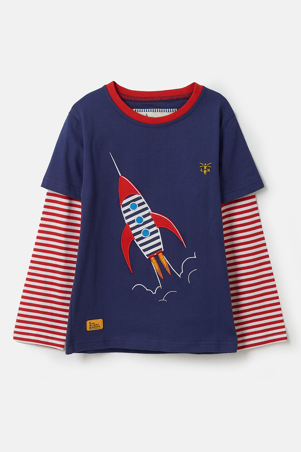 Oliver Top - Rocket, Boy's Long Sleeve Top | Lighthouse