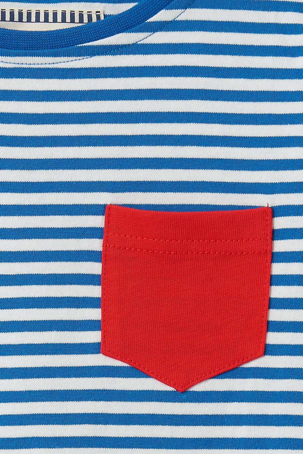 Oliver Top - Ocean Blue Stripe