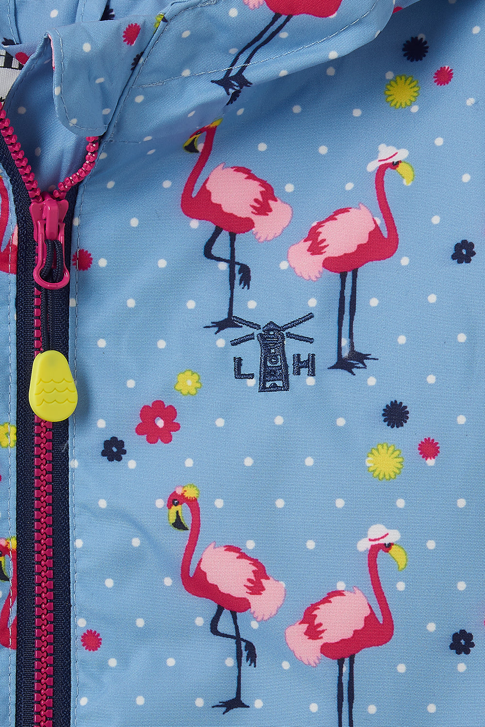 Olivia Jacket - Flamingo