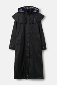 Outback Full Length Waterproof Raincoat - Black