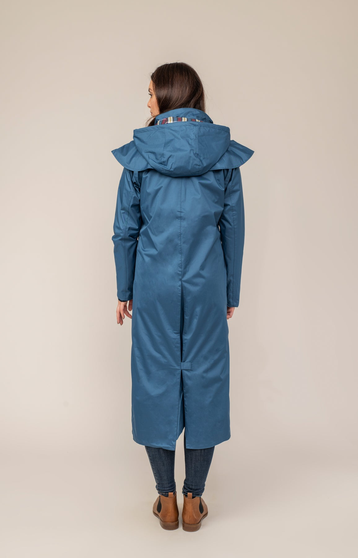 Outback Full Length Waterproof Raincoat - Deep Sea