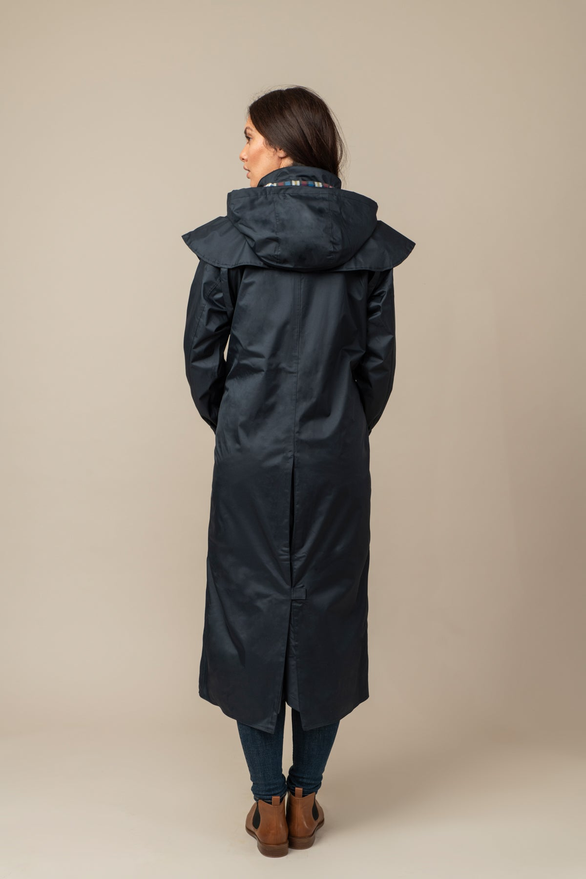 Outback Full Length Waterproof Raincoat - Nightshade