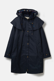 Outrider 3/4 Length Waterproof Raincoat - Nightshade