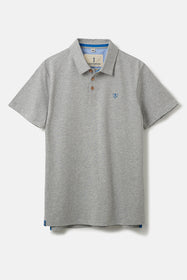 Pier Polo Shirt - Grey Marl