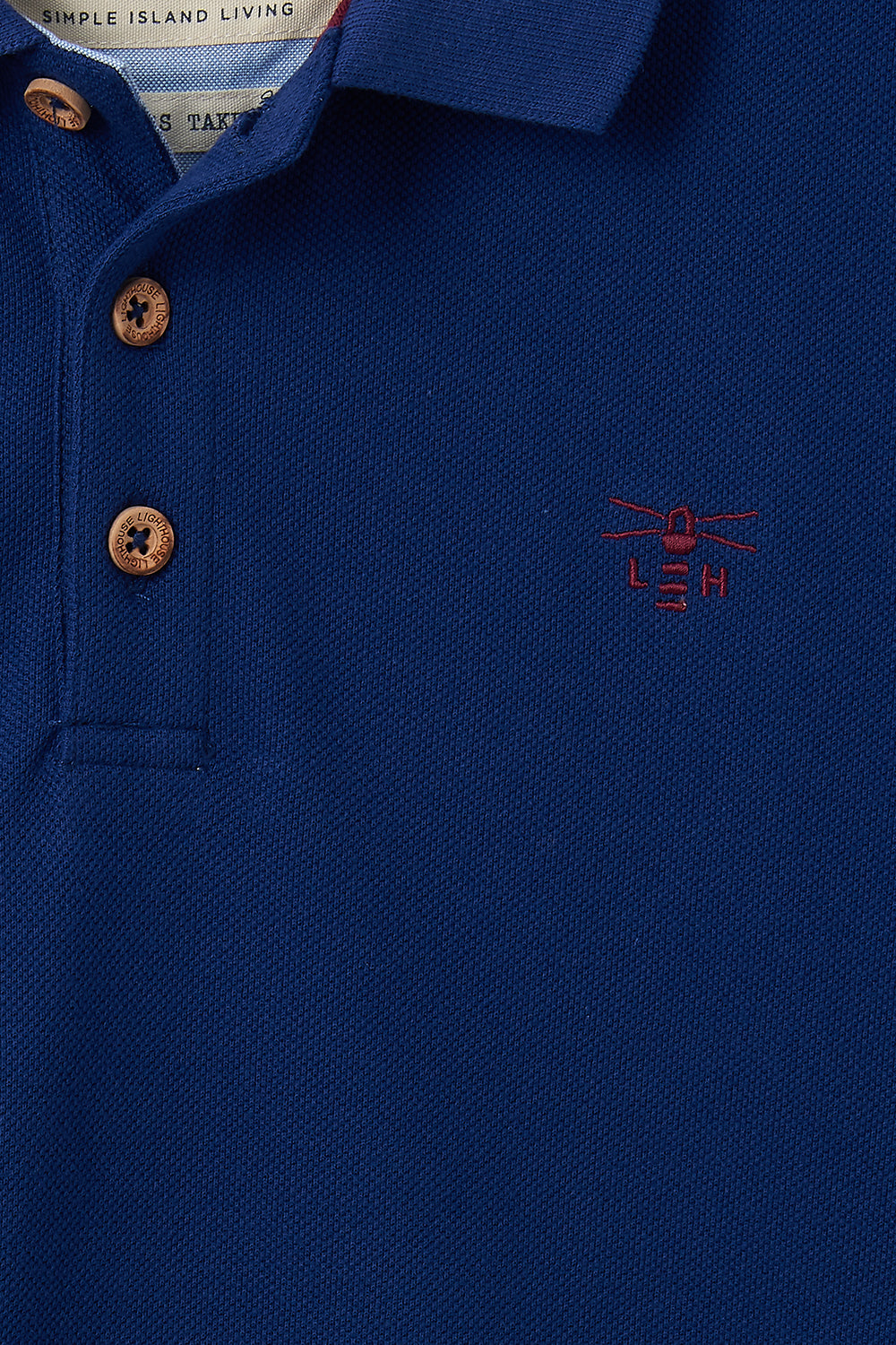 Pier Polo Shirt - Indigo Blue