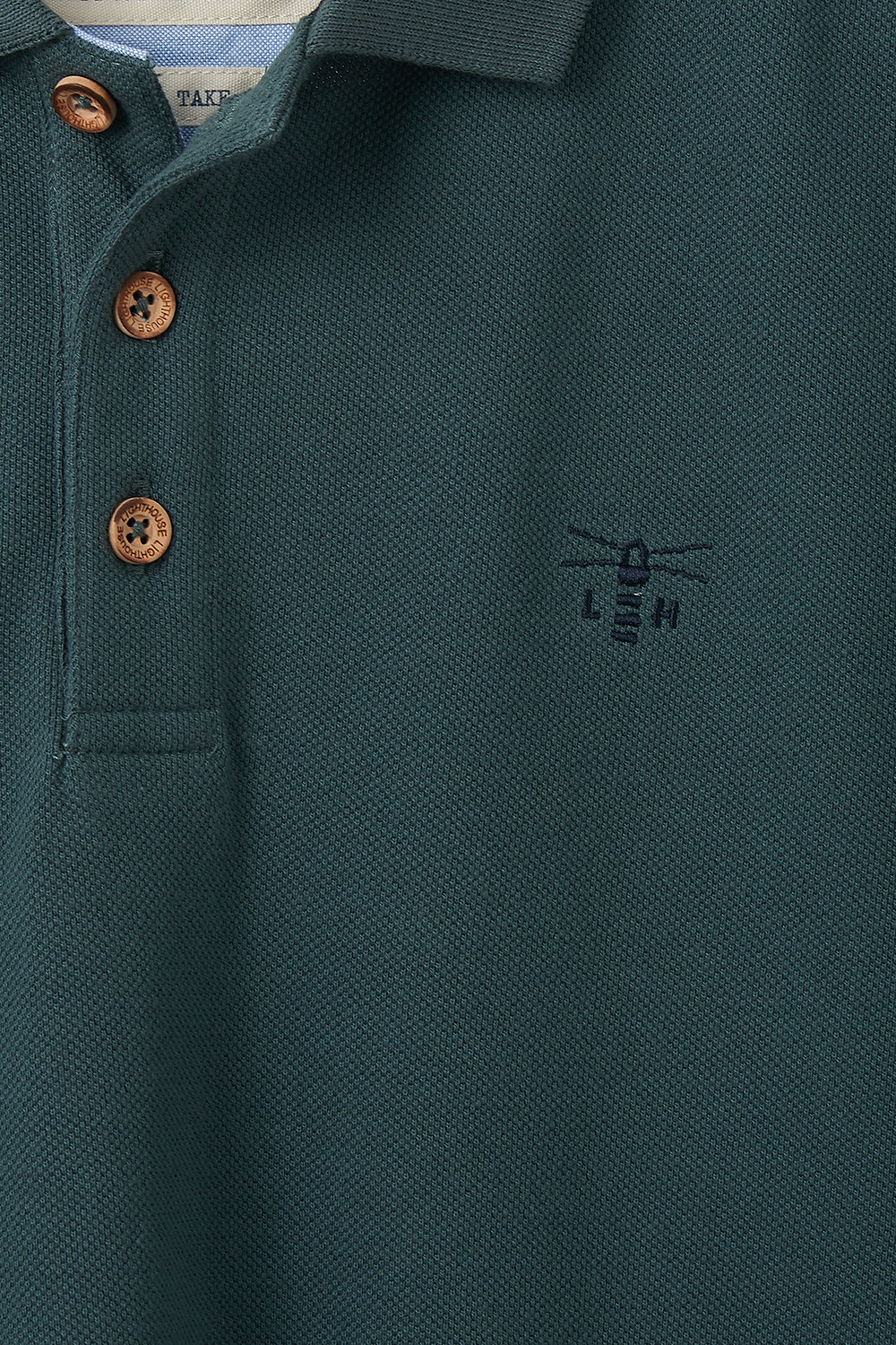 Pier Polo Shirt - Olive Green
