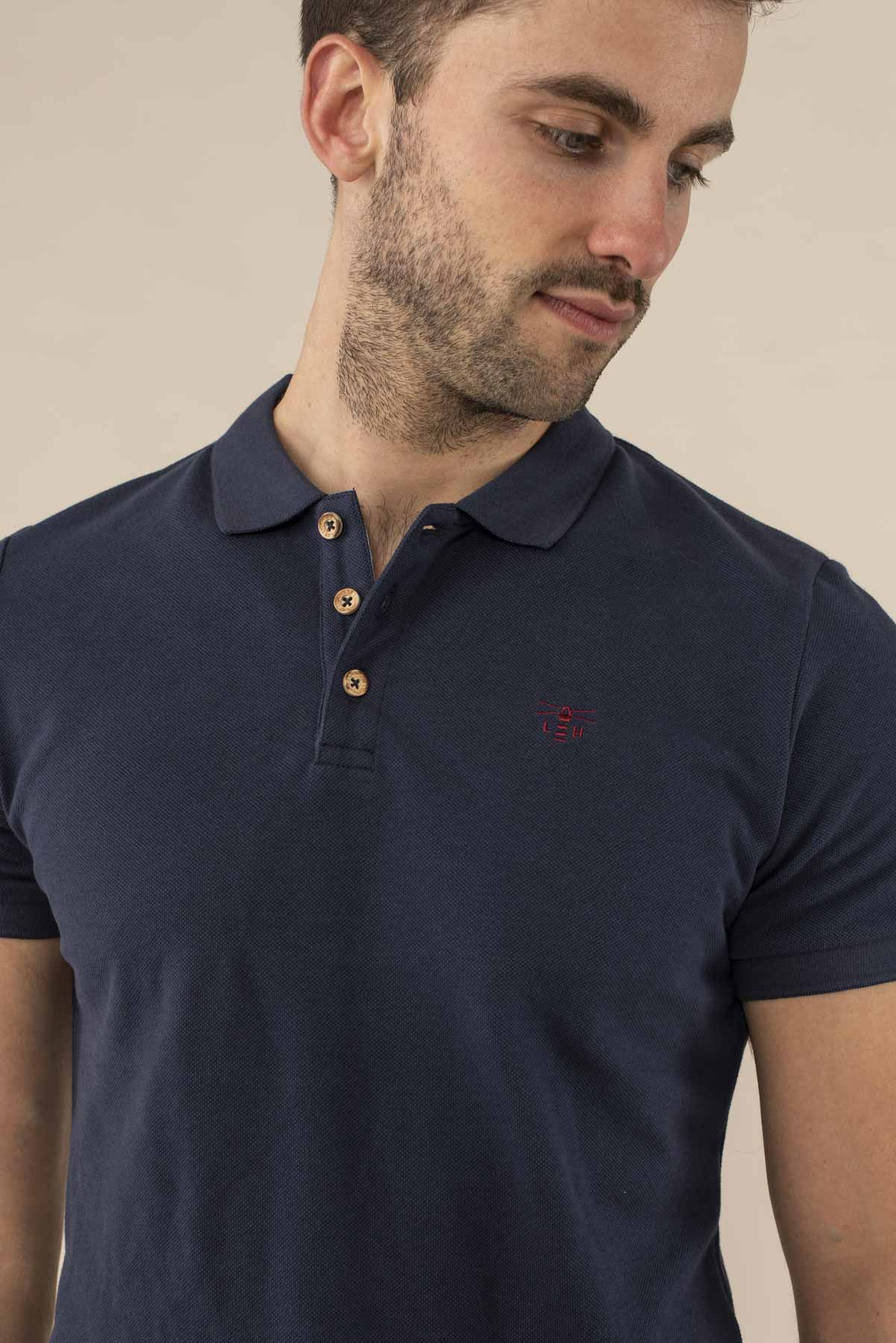 Pier Polo Shirt - Navy