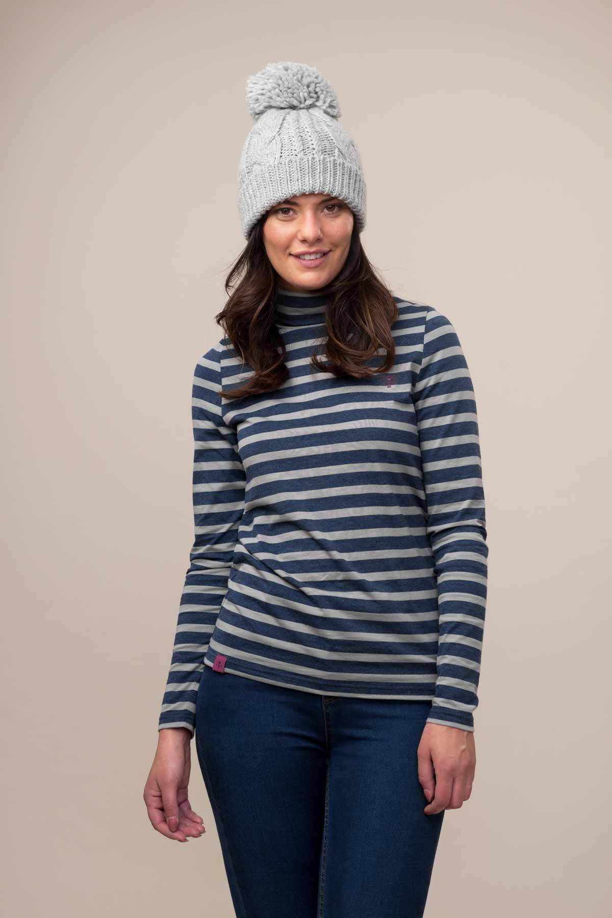 Piper Top - Midnight Stripe