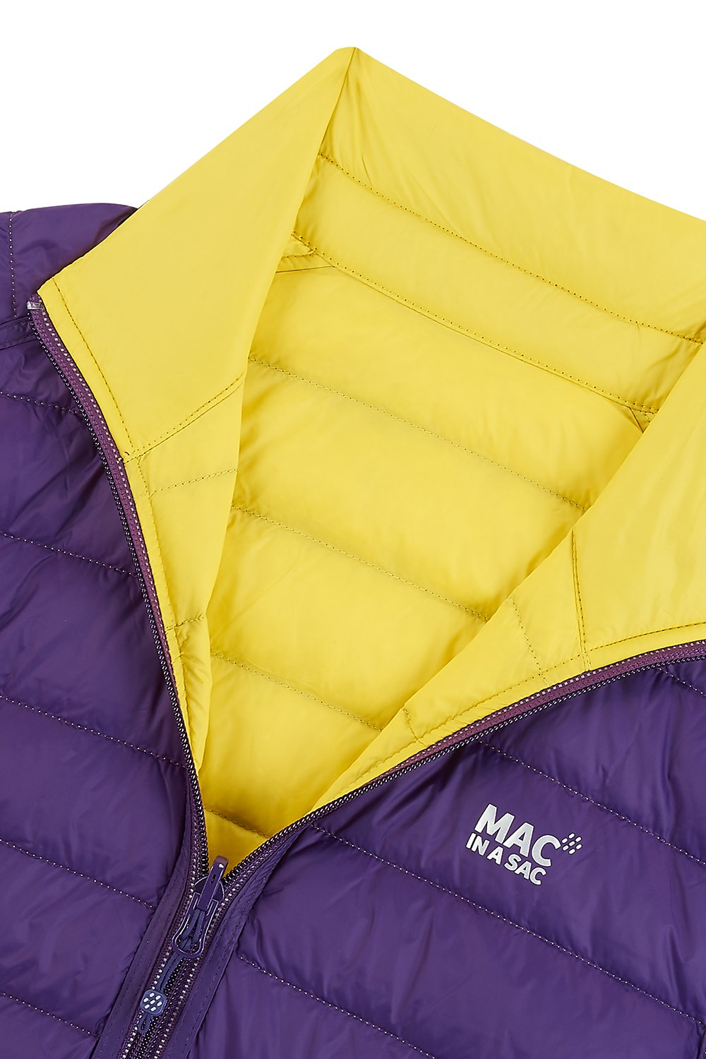 Polar II Womens Down Jacket - Yellow Grape