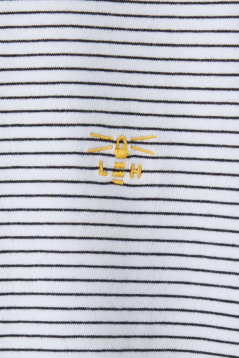 Seashore Women's Breton T-Shirt - Detail Shot