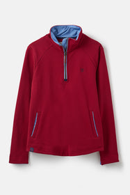 Shore Sweatshirt - Deep Red