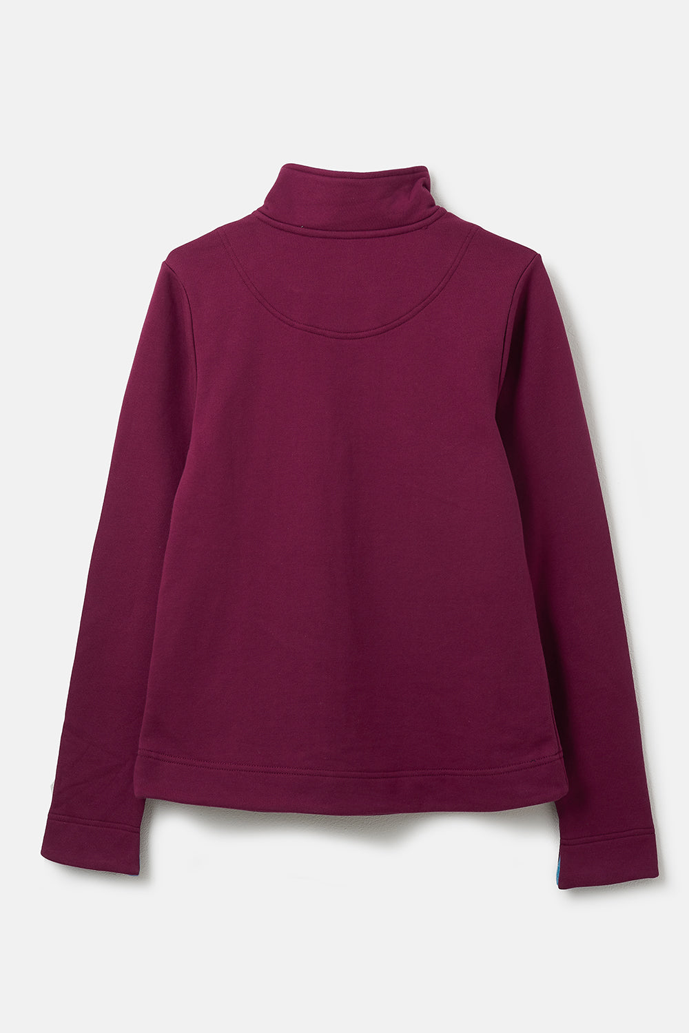 Shore Sweatshirt. 100% Cotton Women's Purple Pullover | Lighthouse