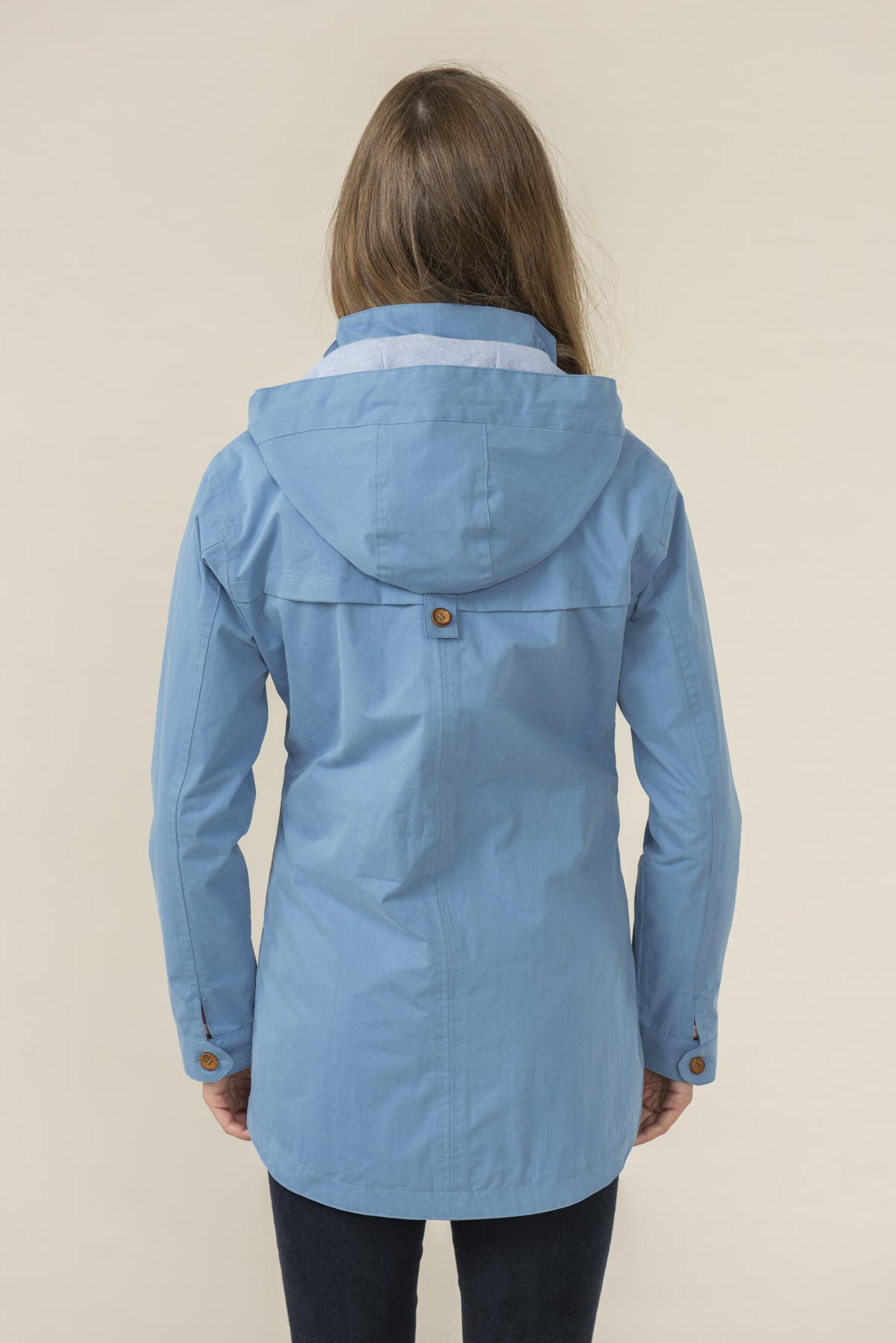 Women's Coats - Tori - Blue Raincoat