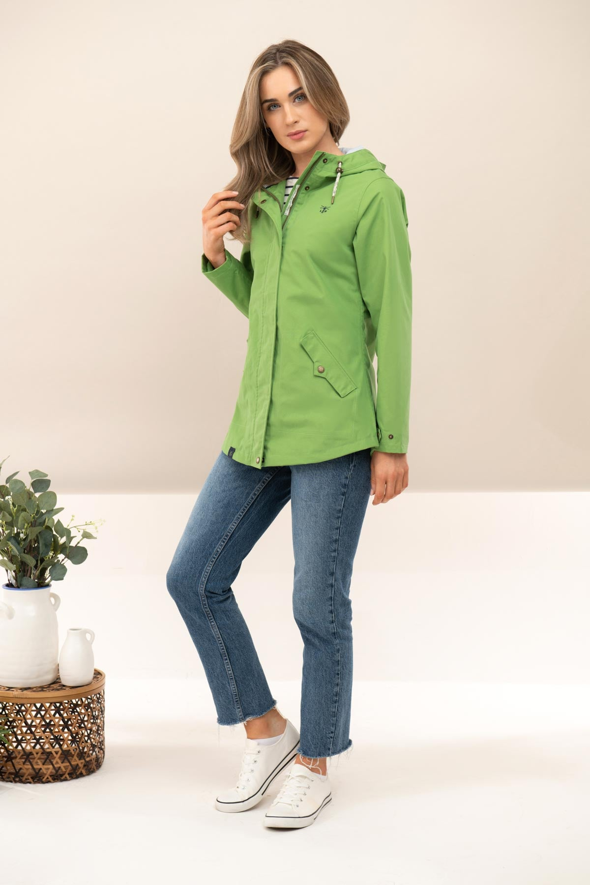 Tori Jacket - Meadow Green
