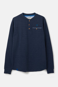 Wayfarer Top - Navy Marl