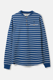 Wayfarer Top - Reef Stripe
