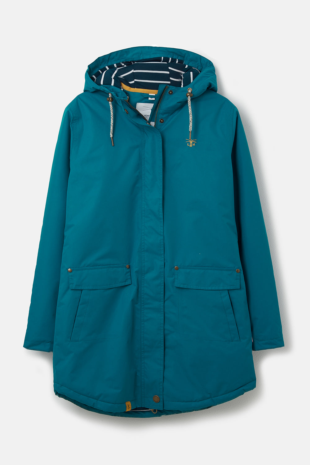 Long Iona Coat - Deep Teal