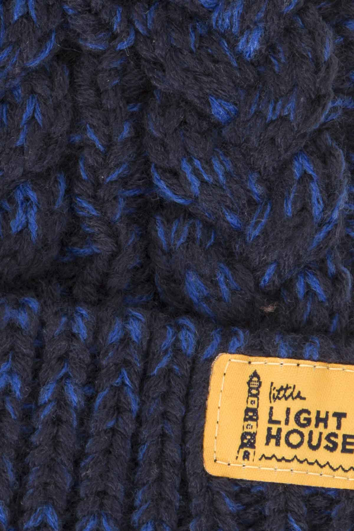 Bobbie Bobble Hat - Eclipse Cable