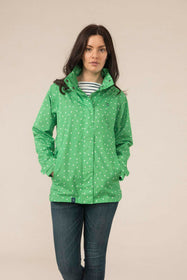 Alia Jacket - Seagrass Dot