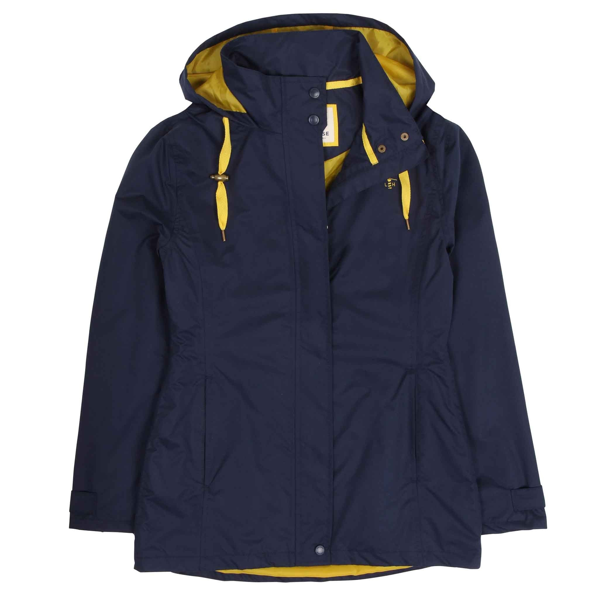 Beachcomber Waterproof Coat - French Navy