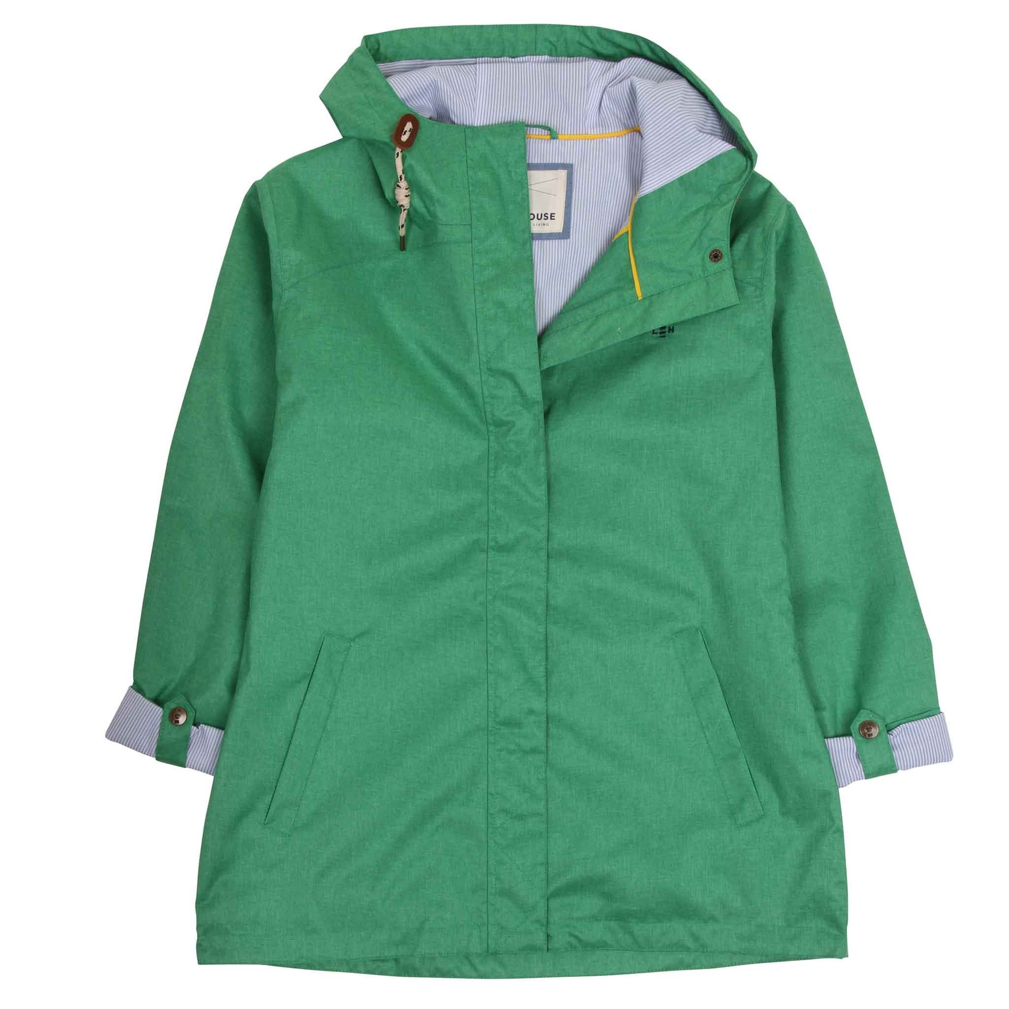 Bluejay Short Waterproof Jacket - Seagrass
