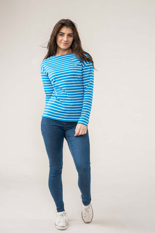 Okendo_Dune Striped Jersey Top