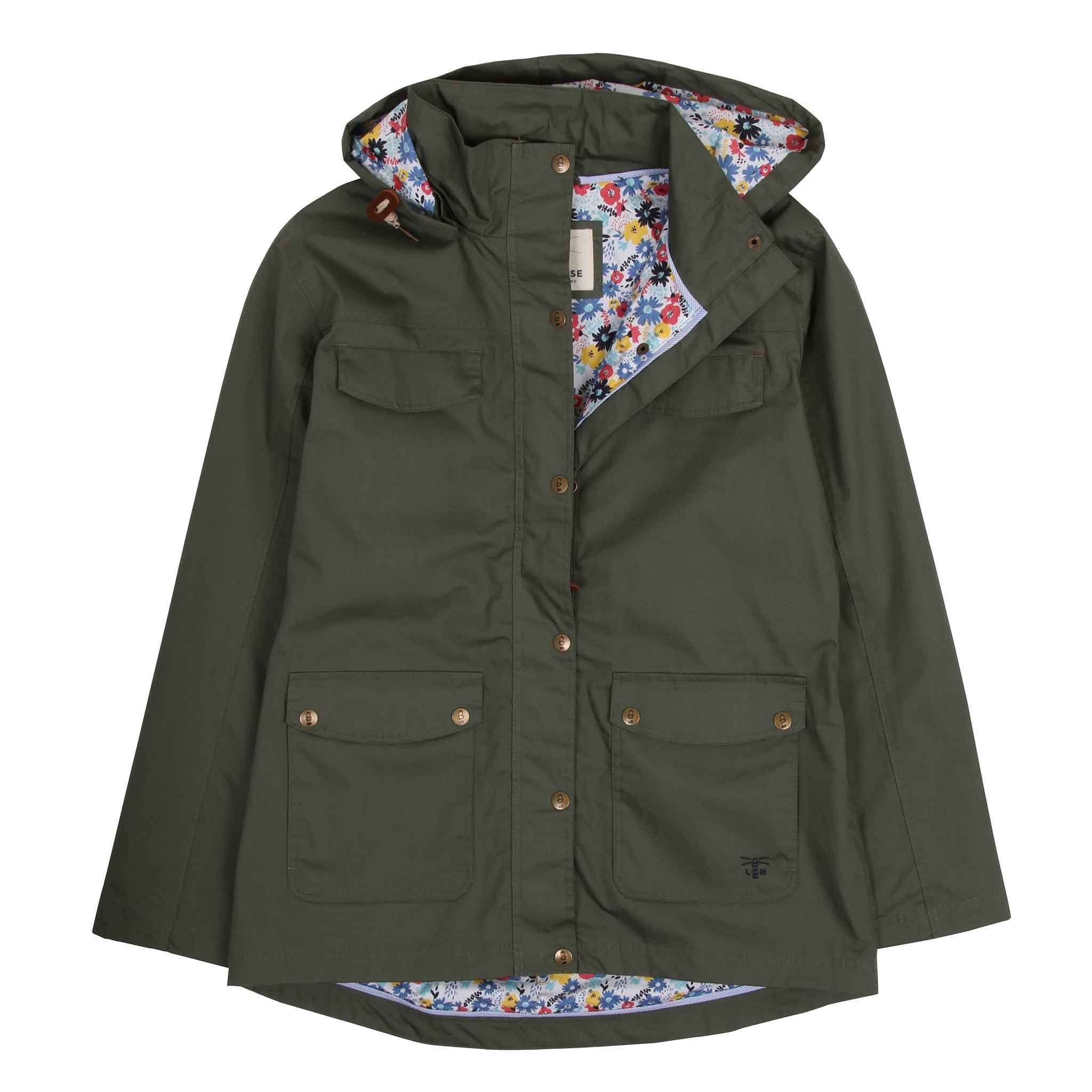 Romy Waterproof Jacket - Willow Green
