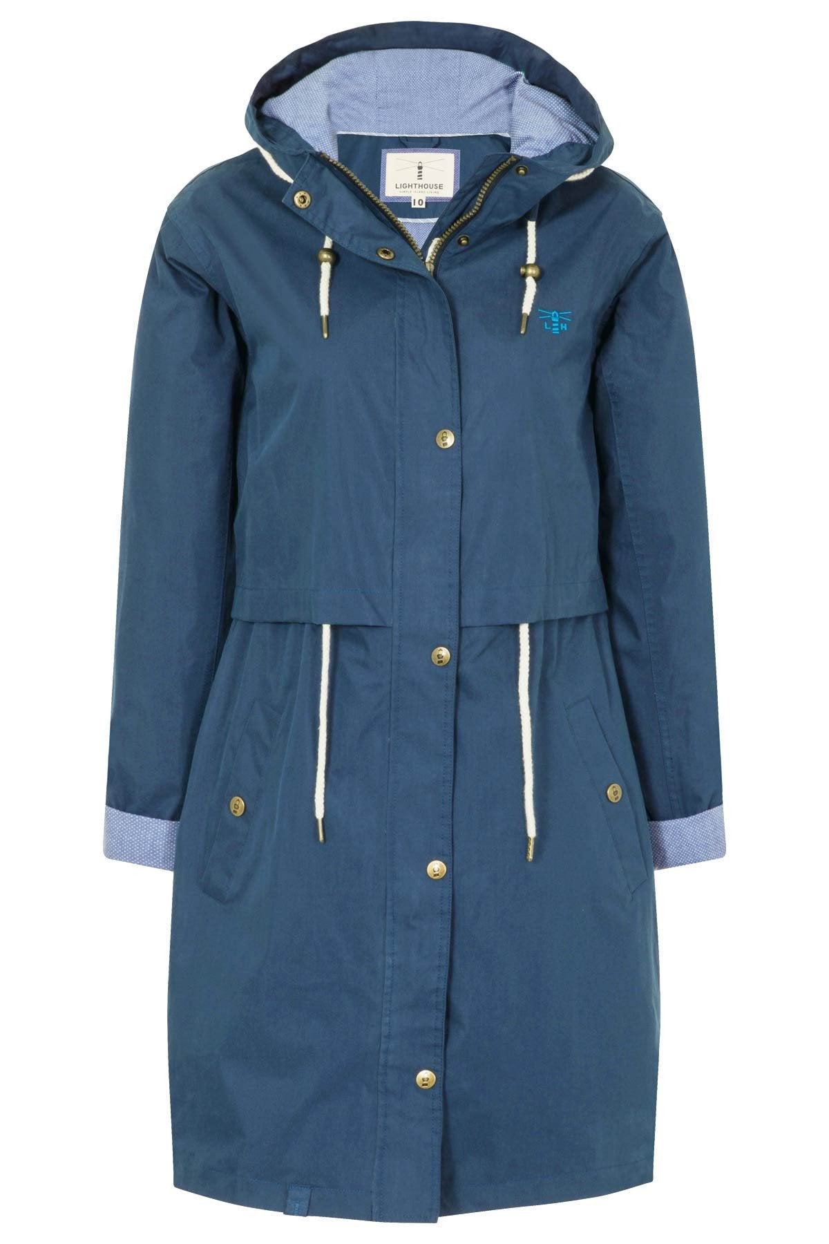 Lighthouse women's Rayna parka - mannequin image