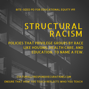 Why structural racism matters? | Bite-Sized PD for Educational Equity