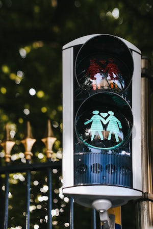 lgtbq traffic light