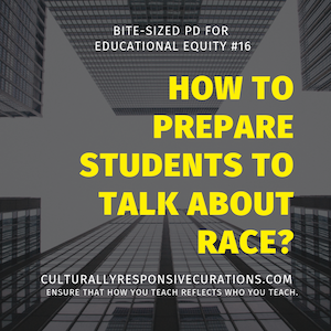 How to prepare students to talk about race?
