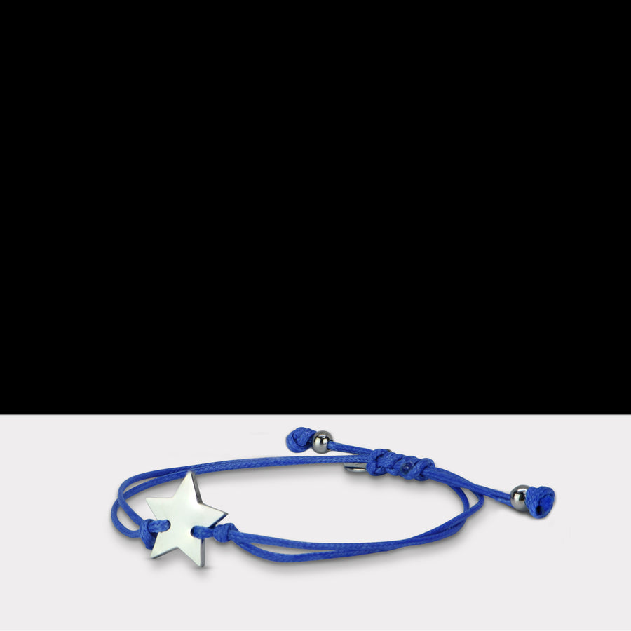 Fantasy Dark Blue Star Armband