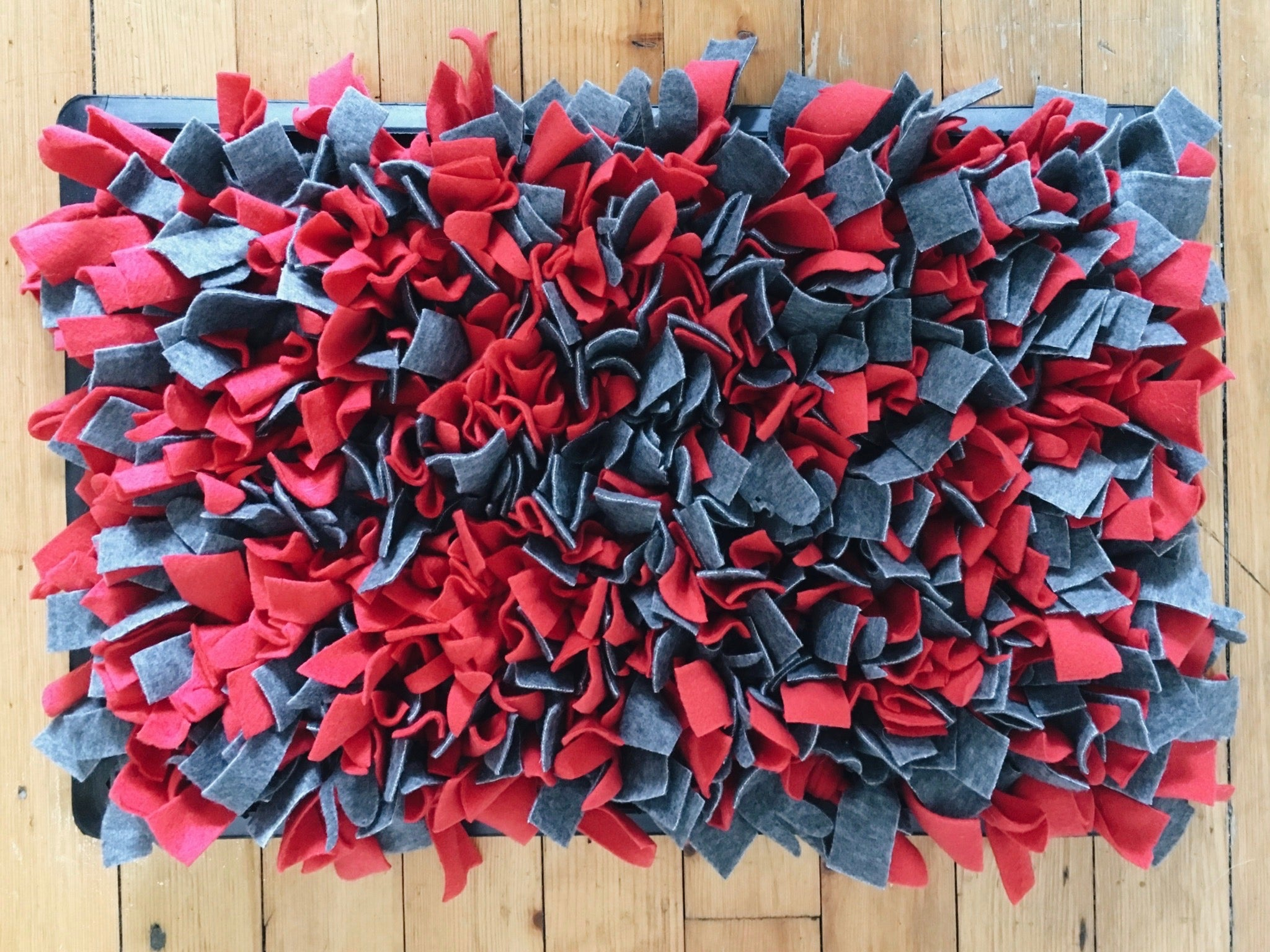 How To Make A Snuffle Mat The Dog Edit