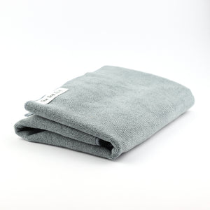 Grey microfibre dog towel