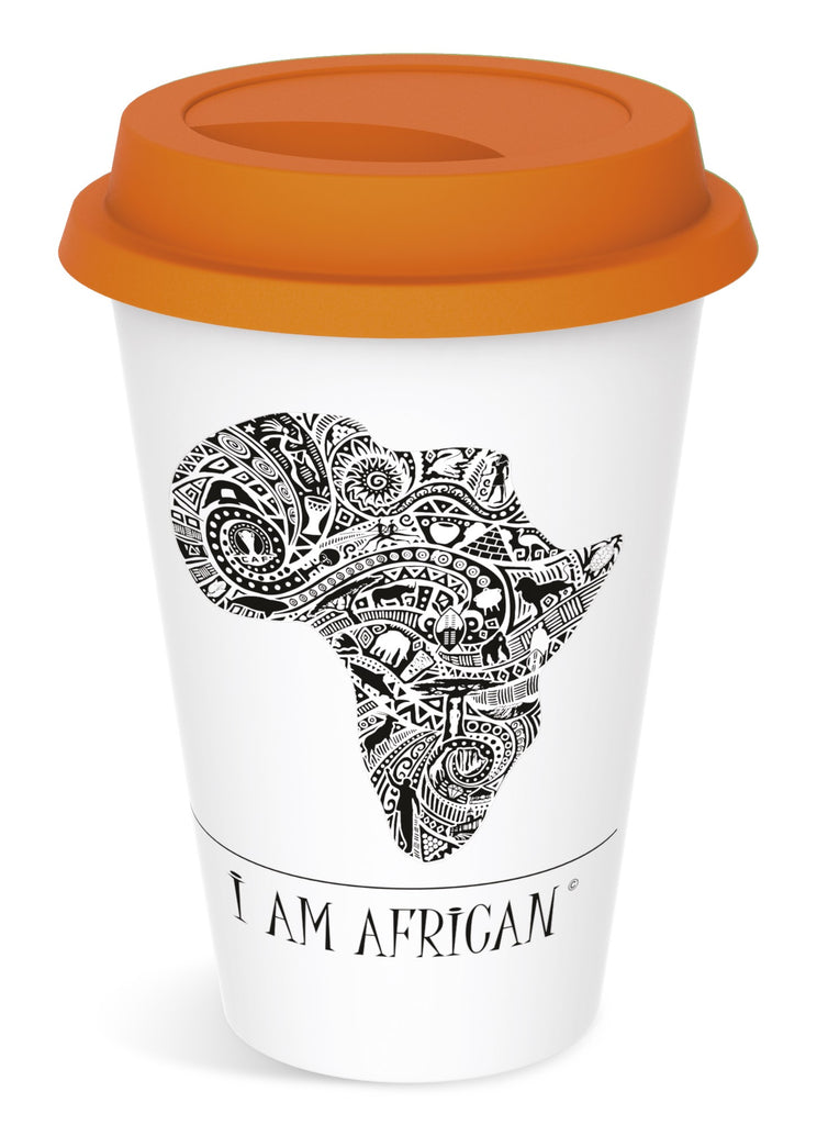 Andy Cartwright 'I Am African' Tumbler - 320ml