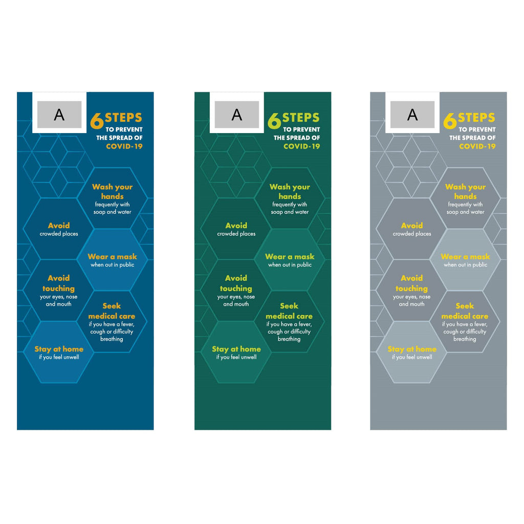 Luhman Africa COVID-19 Pull-Up Banner