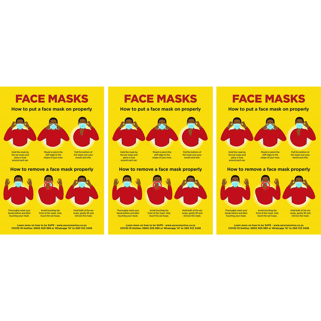Jupiter A0 Face Masks Poster - Per Unit