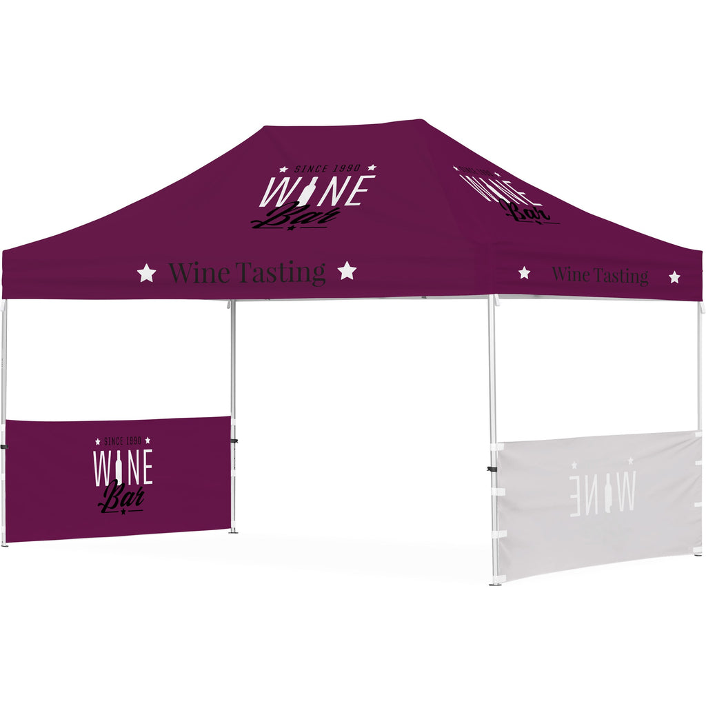 Ovation Gazebo 4.5m x 3m - 2 Short Half-Wall Skins
