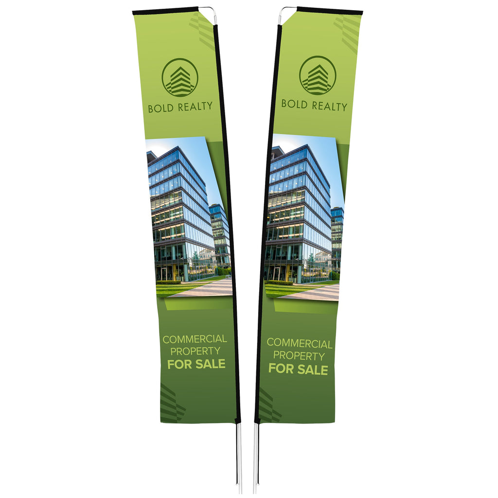 Legend 4m Telescopic Double-Sided Flying Banner