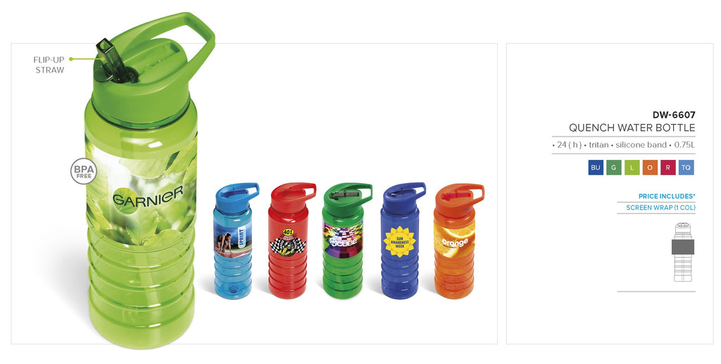 Quench Water Bottle - 750ml