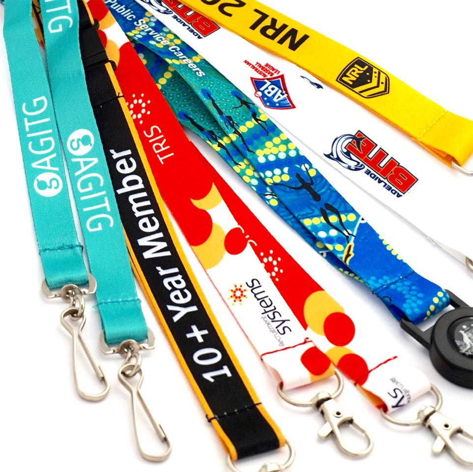 Full Colour Sublimation Lanyards